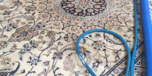 Multi Coloured and Patterned Rug Cleaning